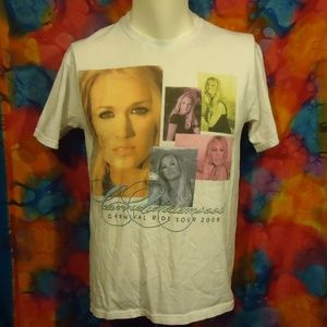 Carrie Underwood - 2008 Tour - T-shirt - White - M